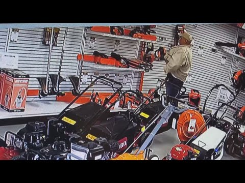 Chuck and Kelly - Shoplifter Shoves Chainsaw Down His Pants