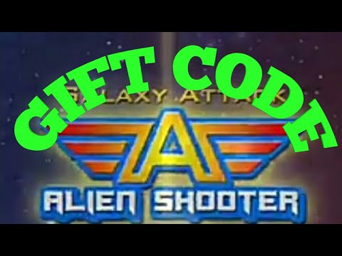 {NOT WORK} Galaxy attack alien shooter. Gift code 2018 (Sorry,this event is over)