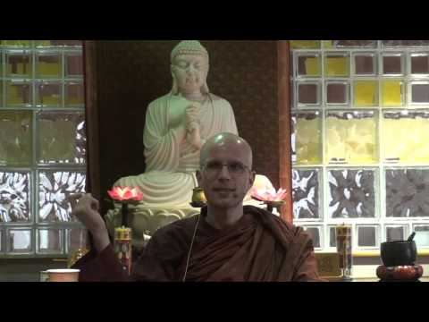 """Ven. Suddhaso """"Daily Application of the 4 Noble Truths"""" - 11/22/2015, part 1"""