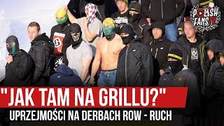 """""""JAK TAM NA GRILLU?"""" - uprzejmości na derbach ROW - Ruch [NAPISY] (19.10.2019 r.)"""