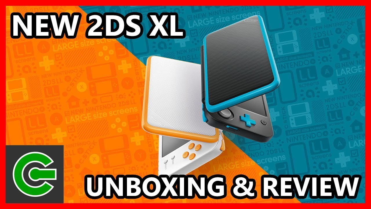 New Nintendo 2ds Xl Unboxing And Review  Youtube