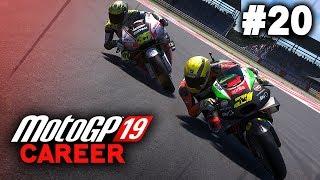 MotoGP 19 Career Mode Gameplay Part 20 - MARQUEZ CRASHES! (MotoGP 2019 Game Career Mode PS4 / PC)