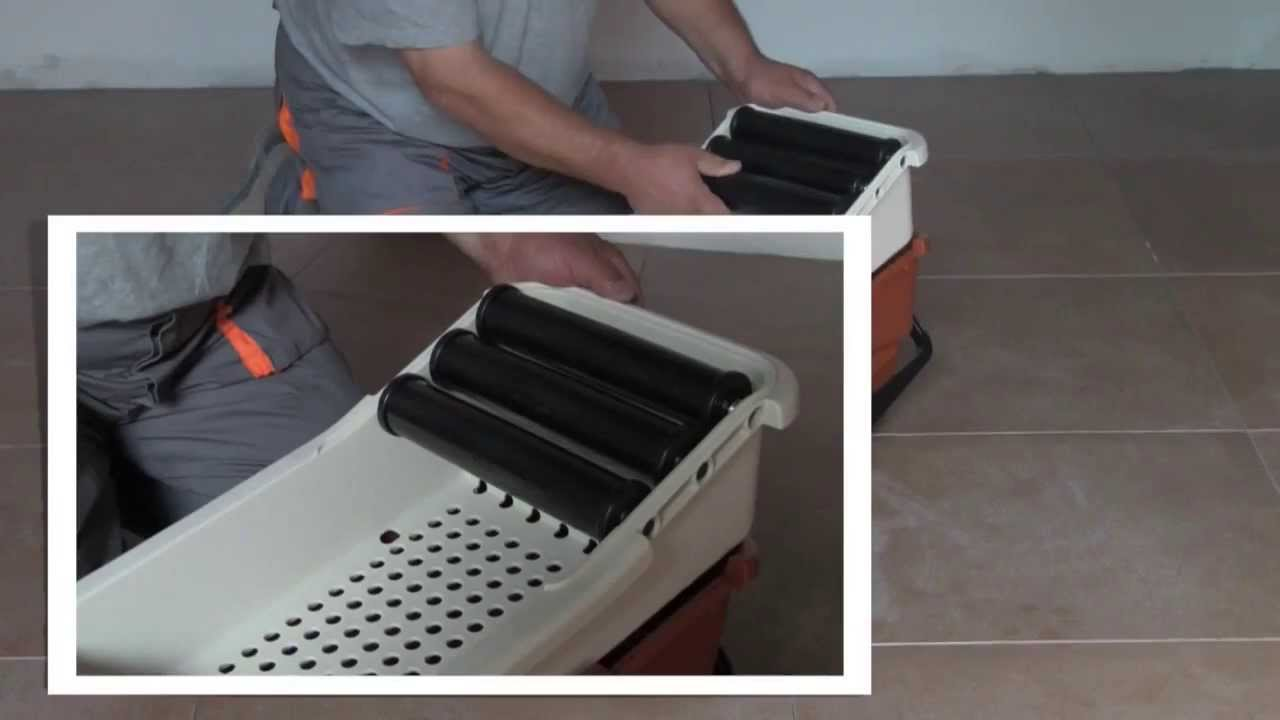 Bac de lavage de joint de carreleur easy de raimondi youtube - Bac de lavage exterieur beton ...