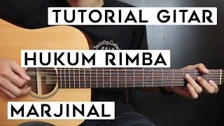 (Tutorial Gitar) MARJINAL - Hukum Rimba   Lengkap Dan Mudah