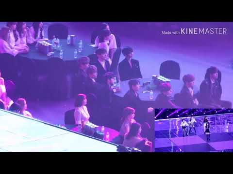 4rd Wanna One reaction to Blackpink ( SO HOT)  ..
