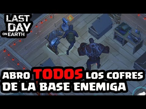 ABRO TODOS LOS COFRES DE LA BASE ENEMIGA | LAST DAY ON EARTH: SURVIVAL | [El Chicha]