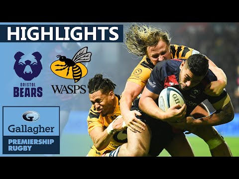 Bristol V Wasps HIGHLIGHTS | Last Minute Try Clinches Match! | Gallagher Premiership