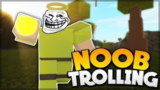 GOD ARMOR NOOB DISGUISE TROLLING | ROBLOX: Booga Booga