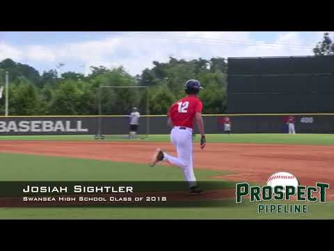 Josiah Sightler Prospect Video, Swansea High School Class of 2018