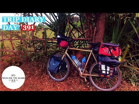 Cycling The World - Day 391 - Cambodia - Too Close For Comfort