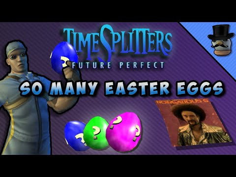 Timesplitters Future Perfect: Nearly EVERY EASTER EGG and REFERENCE!
