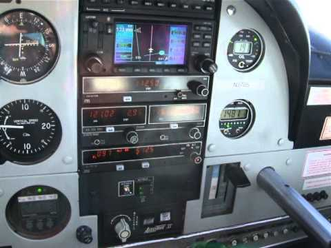 N370S Cessna Cardinal 177 KFTG to KGLD Aspen EFD1000 Pro Synthetic Vision ADS-B