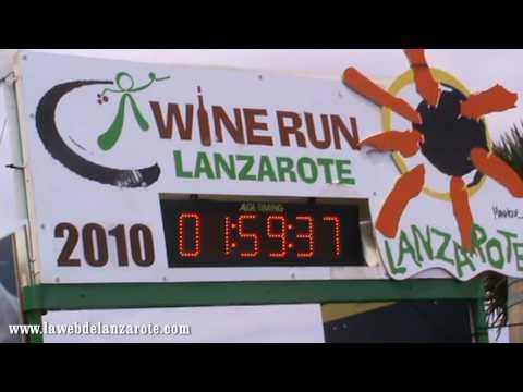 La Carrera del Vino por La Geria de Lanzarote. En Meta