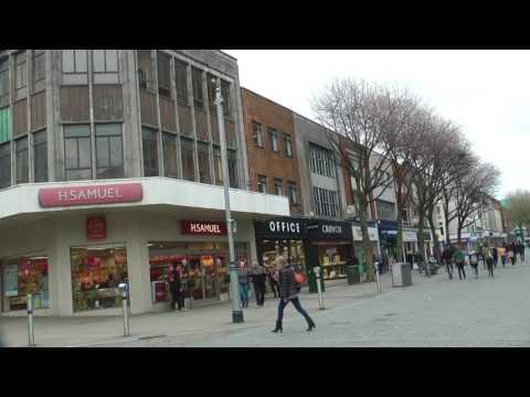 Street Scenes Swansea