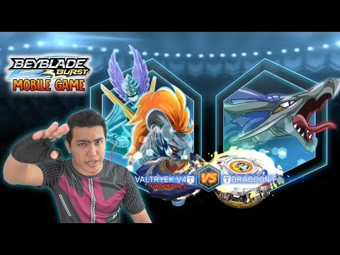 Winning Valkyrie VS Dragoon F : Beyblade Burst Turbo Cho-Z Mobile Android Game Code