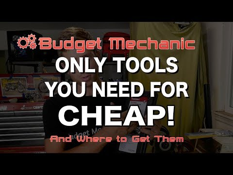 All the Car Repair Tools You Need for under $30! Mechanic's Toolkit
