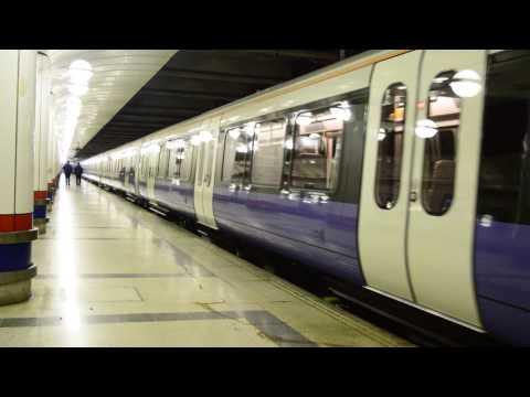MTR Crossrail Class 345 departing London Liverpool Street