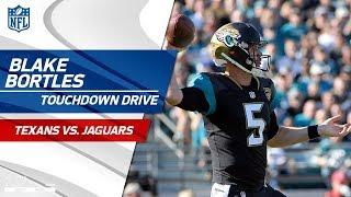 Blake Bortles Stays Hot on Amazing TD Drive vs. Houston! | Texans vs. Jaguars | NFL Wk 15 Highlights