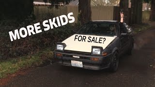 GETTING THE 86 HATCH READY TO DRIFT! And Sell..