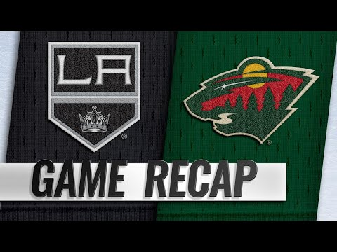 Zucker scores shootout winner as Wild beat Kings, 3-2