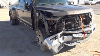 Auction 2017 Ford F350 Rebuild Part 1