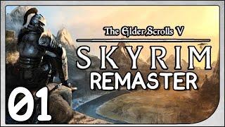 Skyrim Remaster - Bretão Conjurador #01 - Gameplay em Português/Vamos Jogar(PT-BR)
