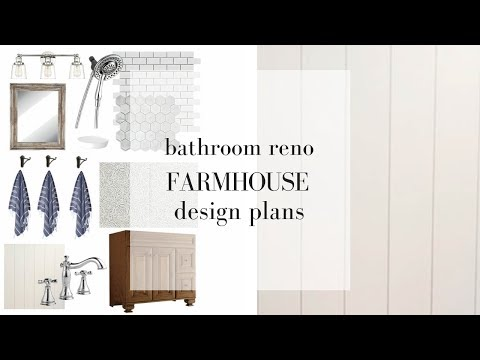 Farmhouse Bathroom Renovation   FARMHOUSE STYLE