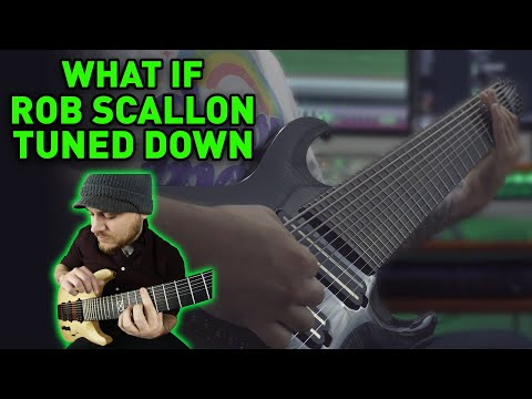 What If ROB SCALLON Tuned Down (10 String Guitar)