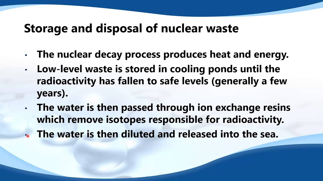 An introduction to the issue of nuclear waste