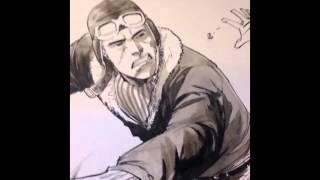 Francis Manapul drawing Johnny Canuck