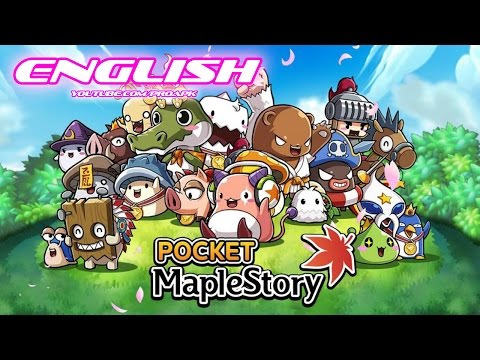 Pocket MapleStory English Gameplay IOS / Android