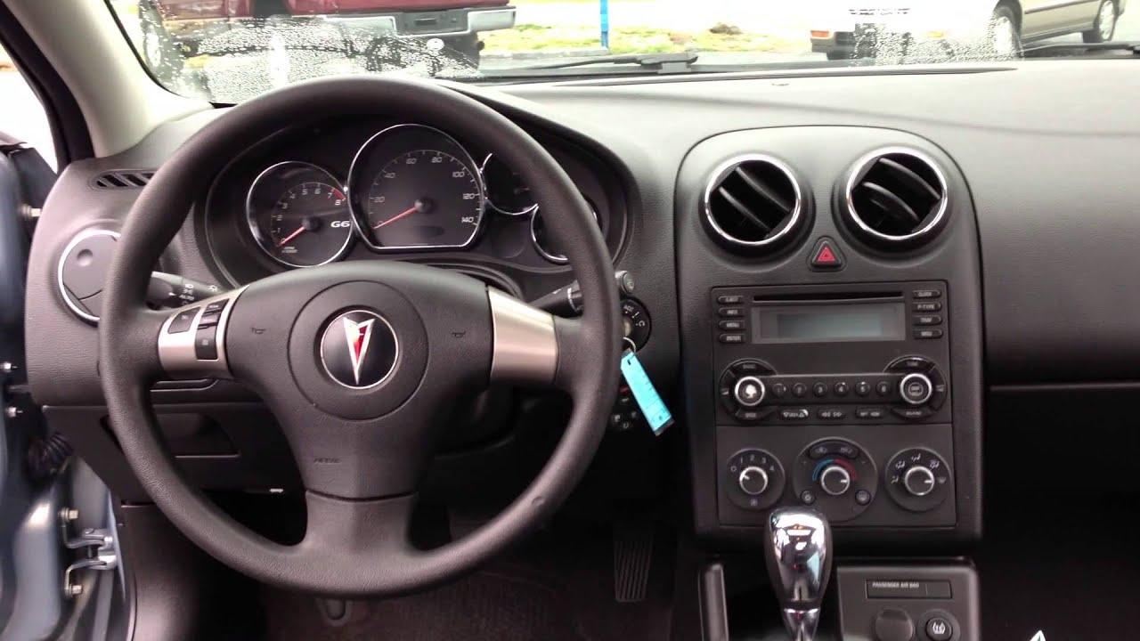 2007 Pontiac G6 #213889 - YouTube