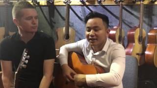 ENGLISH GUITAR CLASS WITH VĂN ANH & DANIEL