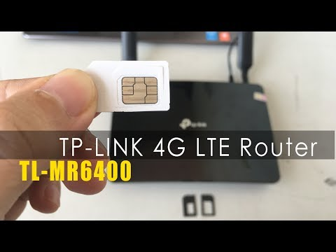 How To Setup TP-Link 4G LTE Router