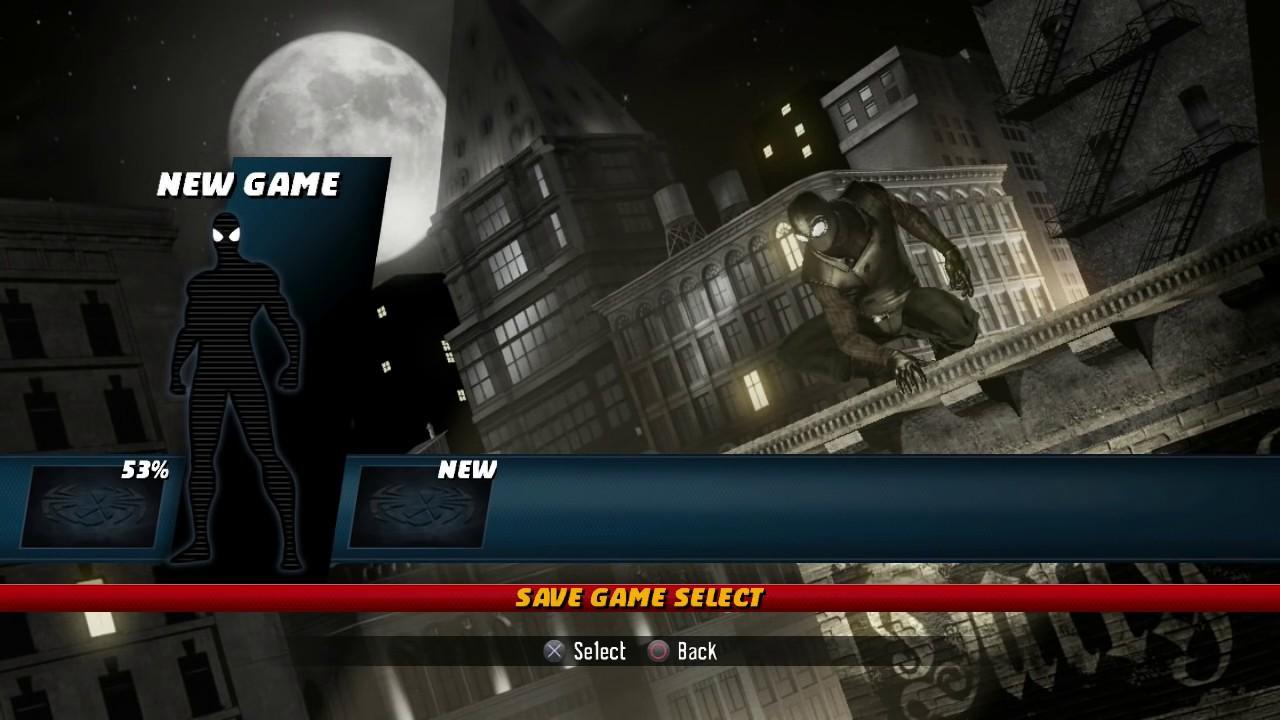 Spider Man Shattered Dimensions Part 1 I Am Spider Men Gameplay Walkthrough