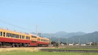 富山地鉄10030形10033F「ダブルデッカーエキスプレス」 若栗~栃屋通過