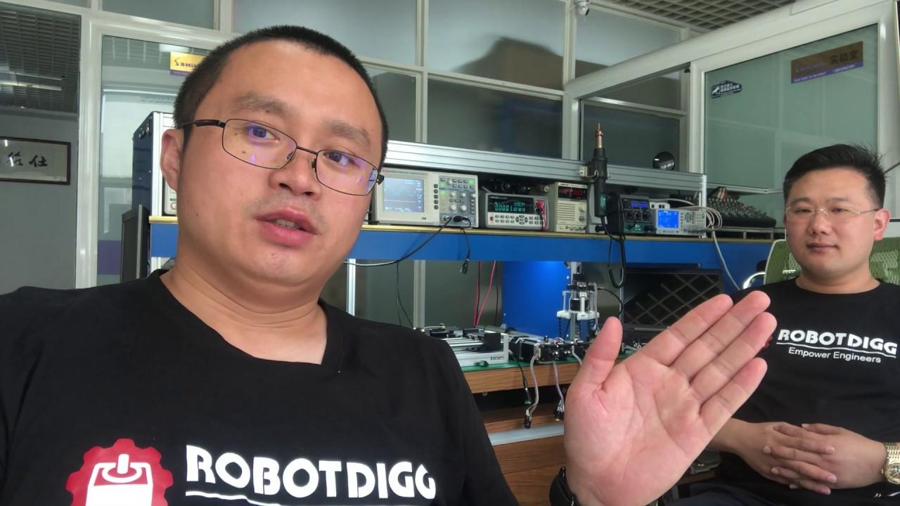 RobotDigg unique stepper controller 05 firmware