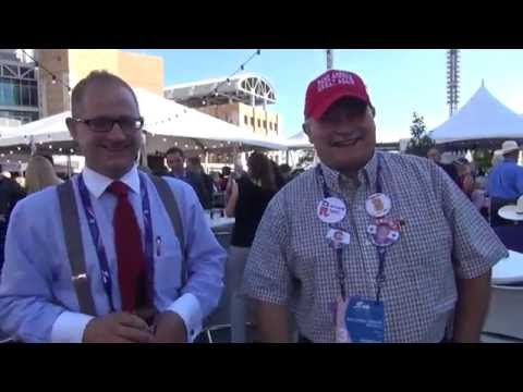 RNC Nights: Republican revelers in festive hats party it up