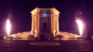 Coeur de ville en lumières Montpellier 2017 Fête des Lumières
