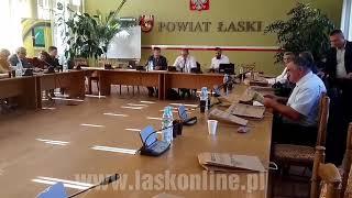 XXXVII sesja Rady Miejskiej w Łasku