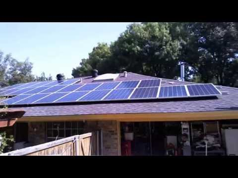 Solar Panel Install Time Lapse 32 Modules 8KW