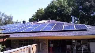 Solar Panel Install Time Lapse 32 Modules 8KW