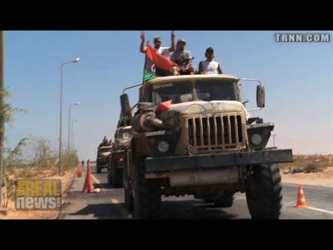 With NATO Support Libyan Rebels Push to Sirte