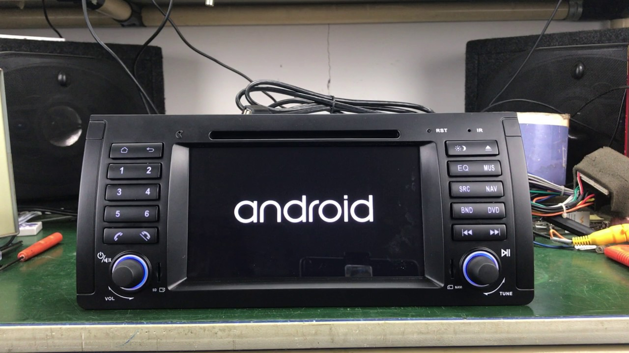 Android 5 1 1 to 6 0 1 BMW E39 Audio Stereo Upgrade