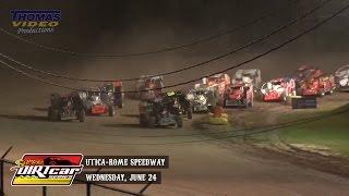 Highlights: Super DIRTcar Series Big Block Modifieds Utica-Rome Speedway June 24th, 2015