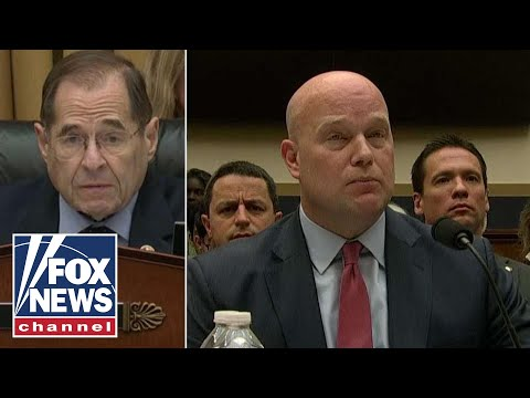 Whitaker, Nadler spar over Robert Mueller's investigation
