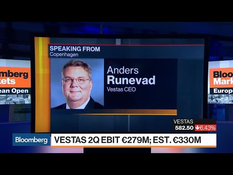 Vestas CEO on 2Q Earnings, Energy Storage