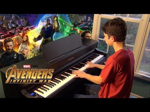 Avengers: Infinity War - Official Trailer Music (Piano Cover)