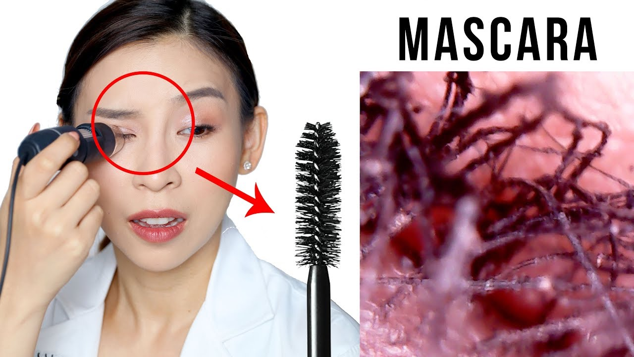 How My Makeup Looks Under a Microscope