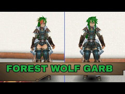 [ Toram Online ] Forest Wolf Garb  [ Armadura 7 ]